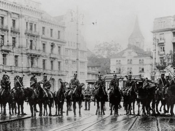Suisse. «Les émeutes zurichoises de novembre 1917»