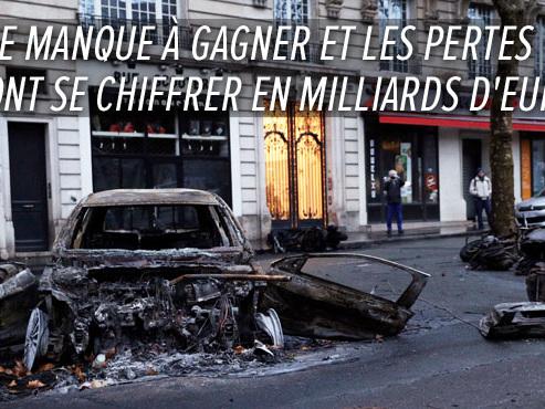 Gilets jaunes: après les heurts à Paris, des commerçants annulent des recrutements et craignent de nouveaux affrontements