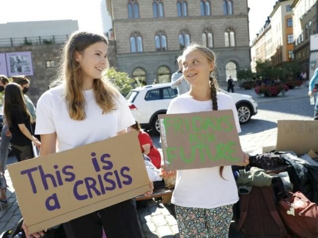 Allemagne: à 48 heures du scrutin, Greta Thunberg à Berlin pour mobiliser sur le climat