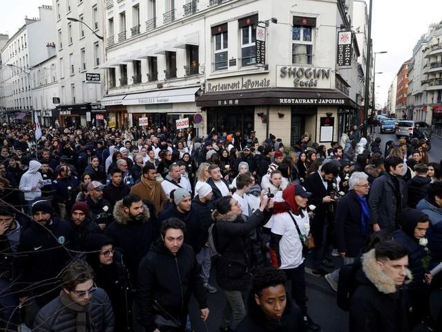 Marche blanche pour Cédric Chouviat, le livreur décédé après son interpellation