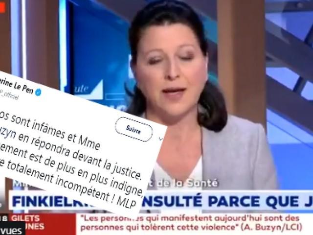 """Buzyn accuse Marine Le Pen de vouloir courir après """"les néo-nazis"""""""