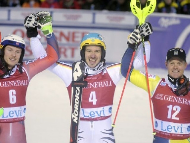 Ski-alpin: bonheur pour Neureuther au slalom de Levi, les Français prennent date