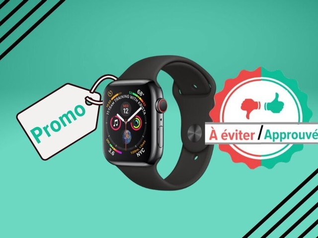 Pour la Black Friday Week, l'Apple Watch Series 4 en promo sur Amazon, on valide ou pas?