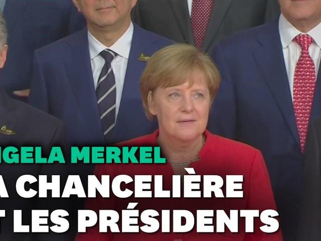 En 16 ans, Angela Merkel a connu 4 présidents français et autant aux États-Unis