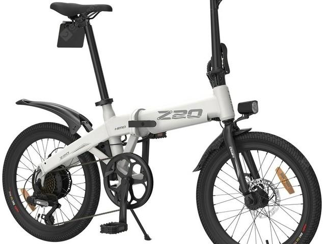 Test du vélo électrique Xiaomi Himo Z20 : un VAE pliable à prix abordable