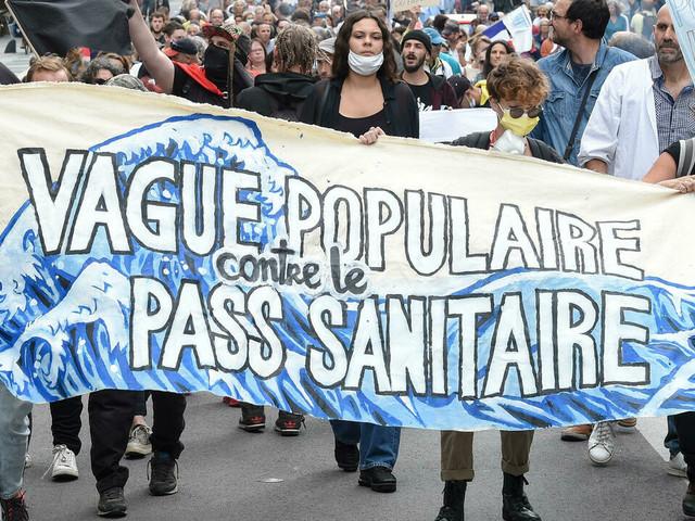 La mobilisation des anti-pass sanitaire encore en baisse