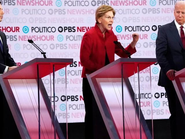 Pendant leur débat, les démocrates n'ont pas épargné Trump mis en accusation