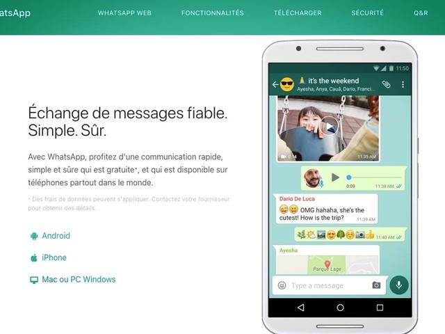 WhatsApp partagera quand même certaines données avec Facebook en France