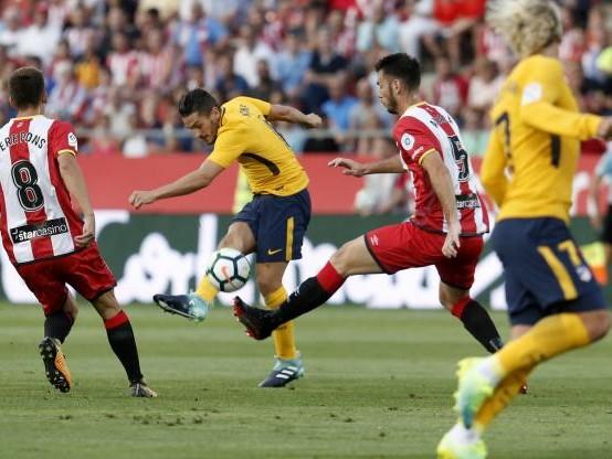Foot - ESP - L'Atlético arrache le nul à Gérone en infériorité numérique