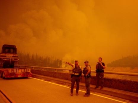 Sept morts et des milliers d'évacués dans les incendies dans l'ouest des Etats-Unis