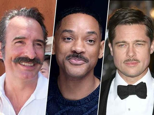 Jean Dujardin, Will Smith, Brad Pitt : quelle moustache portez-vous pour Movember ?