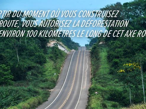 GRAND REPORTAGE: sur la route à travers l'Amazonie, l'asphalte mange la forêt