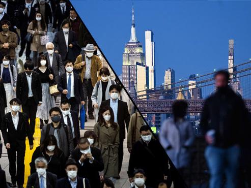Coronavirus - BILAN MONDIAL: 250.000 morts aux Etats-Unis, le Japon en alerte maximale