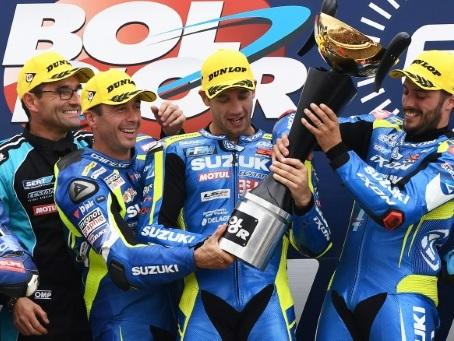 EWC: Suzuki et Philippe triomphent d'un 83e Bol d'Or tronqué par la pluie