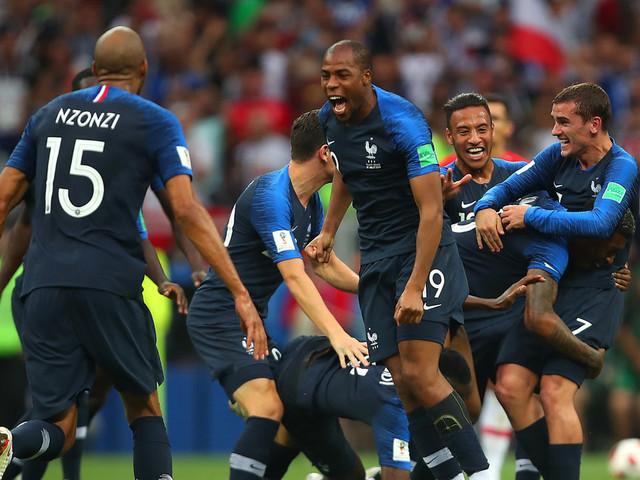 Les Bleus, grand vainqueurs de la Coupe du monde 2018