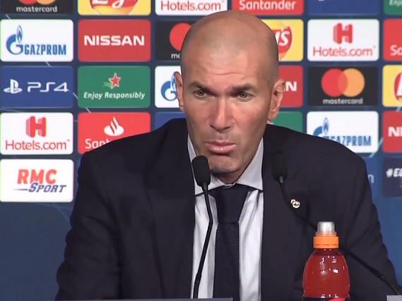 PSG/Real Madrid – Zidane «Le PSG a mérité de gagner son match. Ils ont été très bons à tous les niveaux»