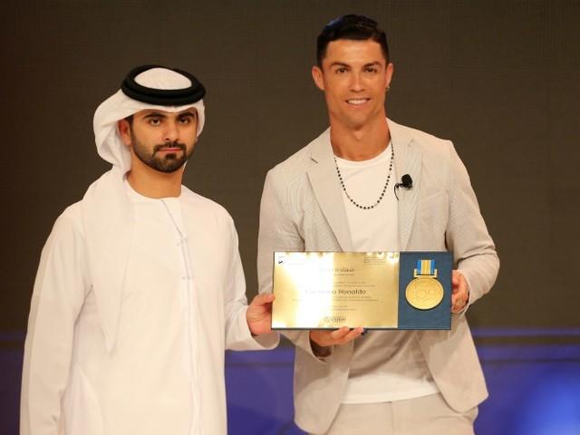 Le cadeau de Dubaï à Cristiano Ronaldo