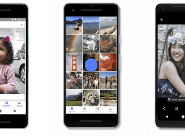 Google Photos ajoute les fonctions Like et Favori