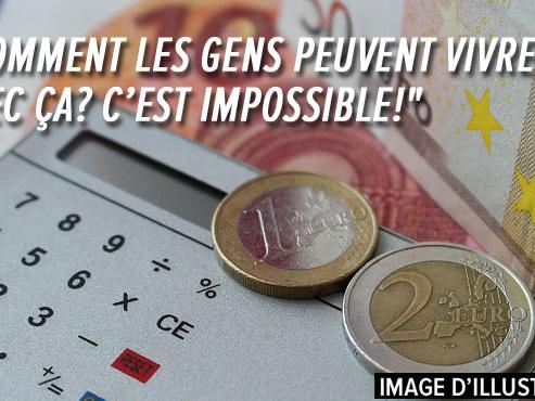 """""""Je reçois 1.518 euros/mois, j'en dépense plus de 1.480"""": Alain, invalide, dit ne pas arriver à mettre 10€ de côté"""