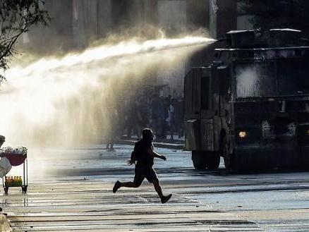 Emeutes au Chili - Violents affrontements dans le centre de Santiago