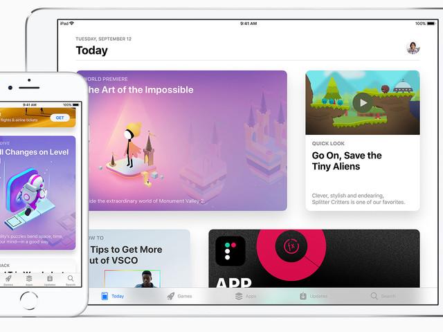 Les nouvelles apps iOS doivent prendre en charge iOS 11 et l'iPhone X