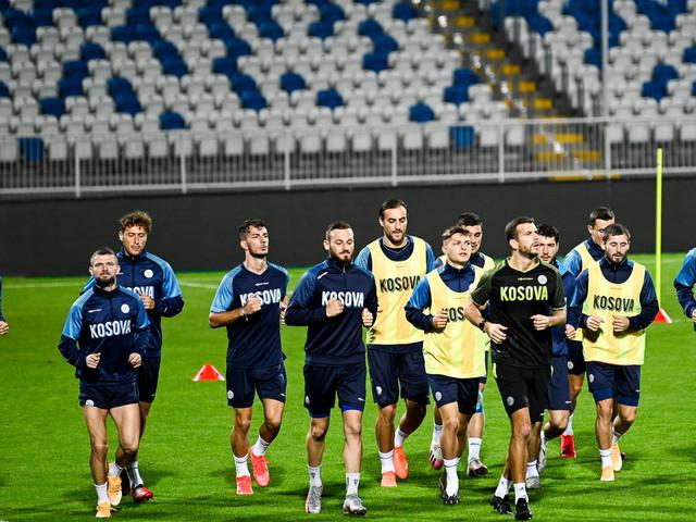 """""""Pas que du foot"""": le Kosovo espère briller dans l'arène internationale"""