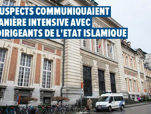 Procès à Louvain: trois hommes et une femme avaient élaboré des plans d'attentats à Bruxelles en 2017
