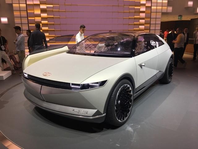 Hyundai Concept 45: clin d'œil du passé - En direct du salon de Francfort 2019