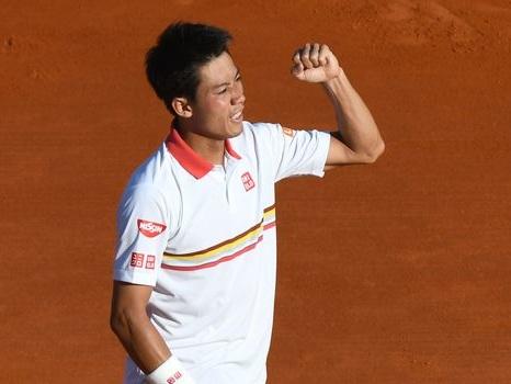 Tennis: Nishikori s'offre Cilic, une heure après ses premières occasions à Monte-Carlo