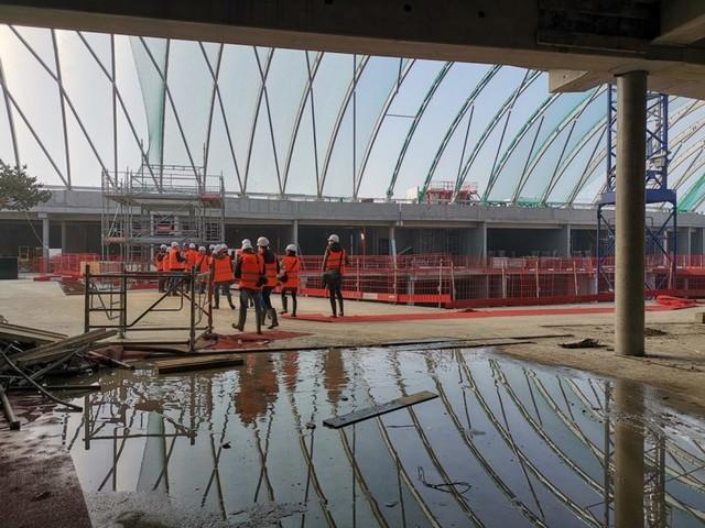 En images. Découvrez le chantier de Lillenium, le futur centre commercial de Lille-Sud