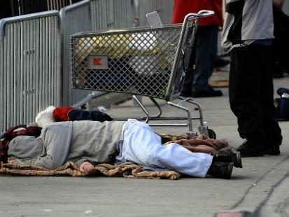 A Las Vegas, dormir sur la voie publique devient un délit passible de prison