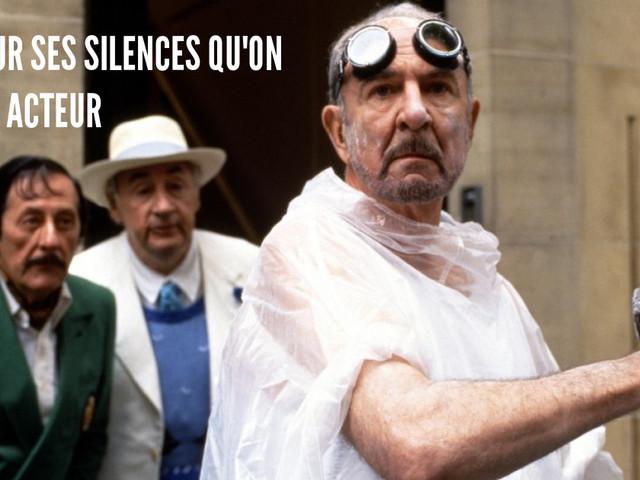 Top 11 des répliques de Jean-Pierre Marielle, une moustache, une grosse voix et des bons mots