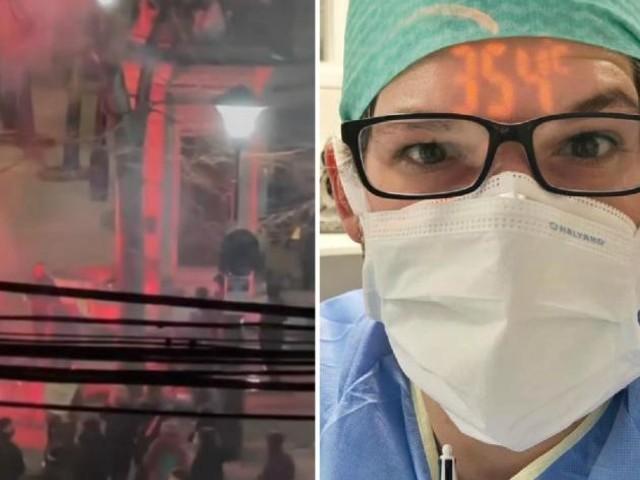 Le coup de gueule de Julien après la manif contre le couvre-feu à Liège: «Je venais d'intuber trois patients quand j'ai entendu les pétards»