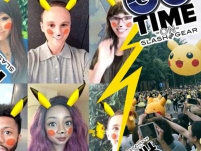 Snapchat propose le filtre Pikachu pour une durée limitée