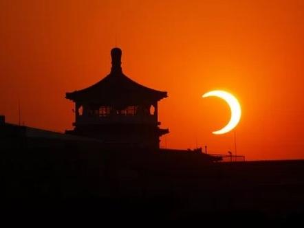 Les plus belles photos d'éclipse