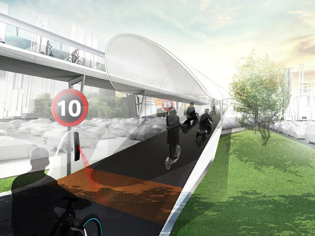 BMW Vision E3 Way: routes intelligentes pour deux roues électriques
