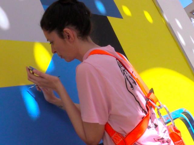 Jidar: L'énergie positive de l'art urbain avec Ghizlane Agzenai