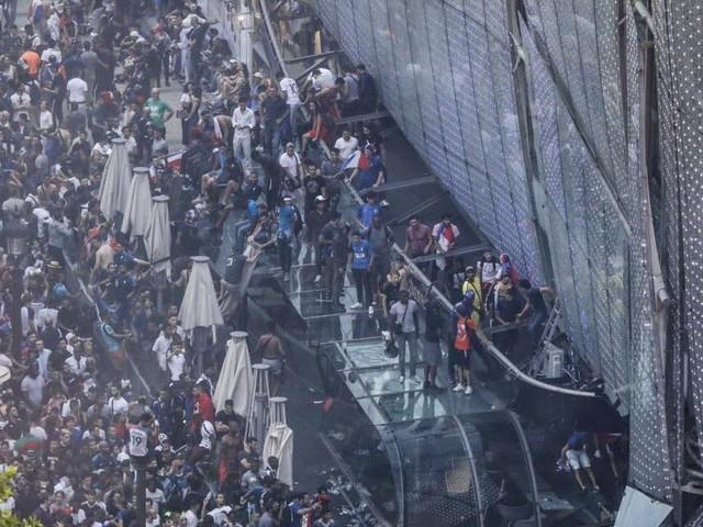 Incidents en marge de la finale : 31 personnes en garde à vue lundi soir