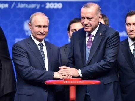 Erdogan et Poutine inaugurent un gazoduc alimentant la Turquie et l'Europe en gaz russe