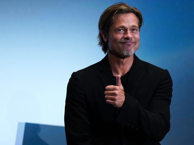 Brad Pitt s'oppose à Donald Trump, et prend la défense du rosé