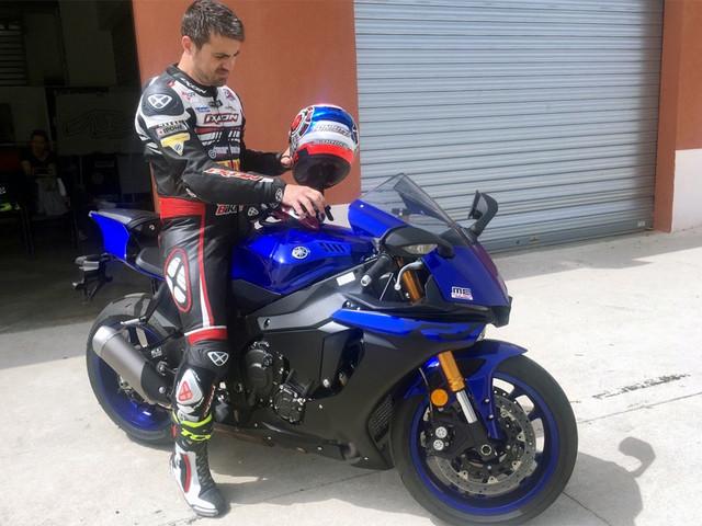 Toniutti reprend la moto