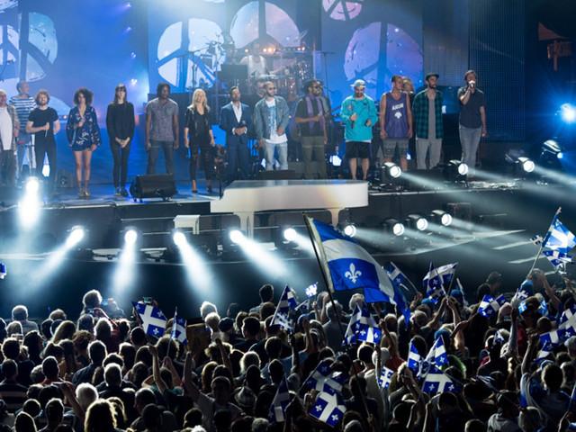 Fête nationale à Montréal: Dame Nature a finalement collaboré