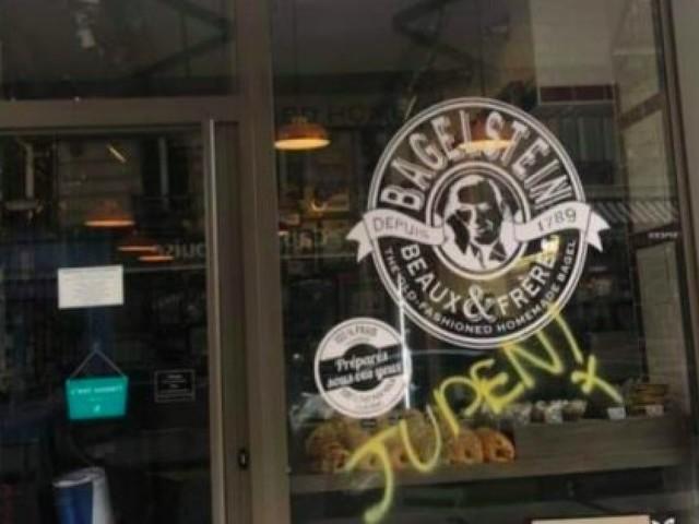 France: un restaurant porte plainte après un tag antisémite