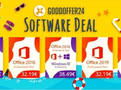 Votre clé Windows 10 Pro à 7 € avec GoodOffer24