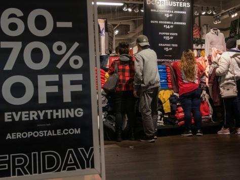 Même aux Etats-Unis, Black Friday devient l'ombre de lui-même