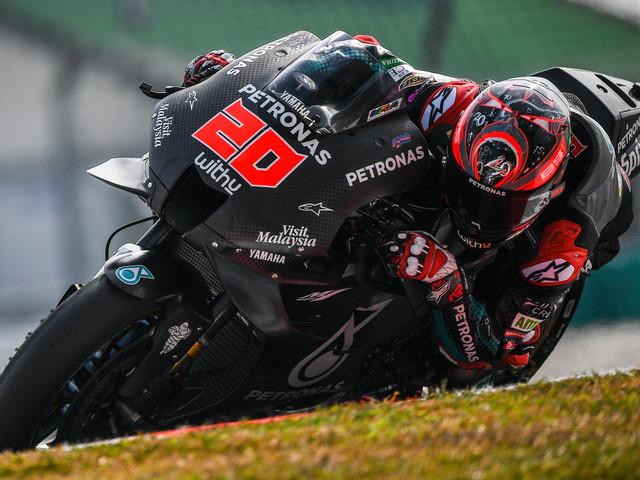 MotoGP: hat-trick pour Quartararo lors des premiers essais hivernaux
