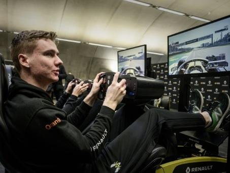 Esport: Renault F1 aux frontières du réel et du virtuel