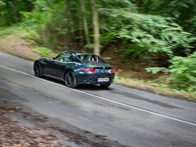 Essai Mazda MX-5 RF Seiza Edition: le bonheur à portée de GT