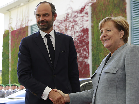 """Édouard Philippe à Berlin : """"Les partenaires de la France, et en premier lieu l'Allemagne, ont besoin d'une France forte"""""""