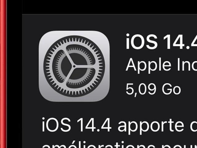 iOS 14.4 en version RC : la liste des nouveautés